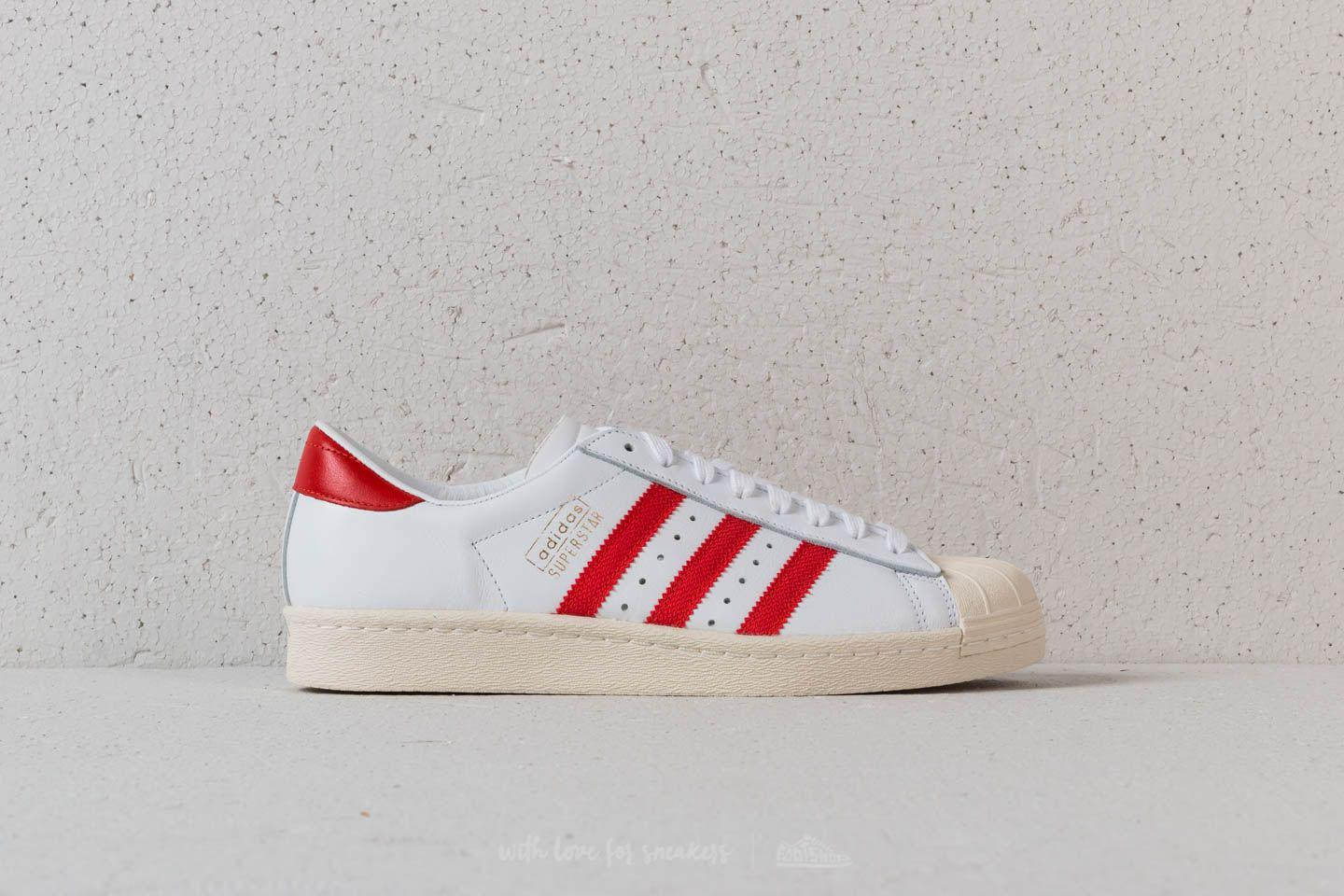adidas Adidas Superstar OG Ftw / Core Red/ Off xodPV
