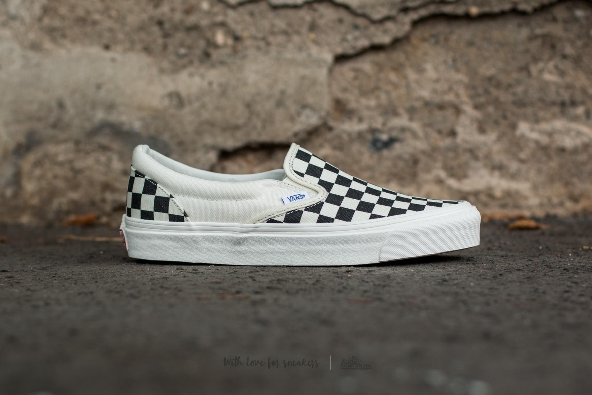 6e7ec3c7fd4ee0 Vans - Multicolor Og Classic Slip On Lx (canvas) Black  White Checkerboard  for. View fullscreen