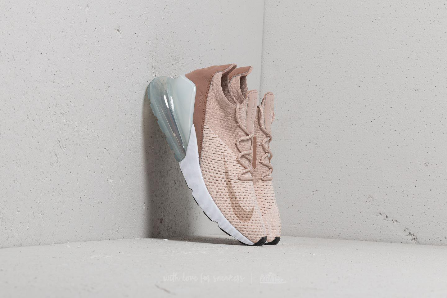 Wmns Air Max 270 Flyknit Guava Ice/ Particle Beige