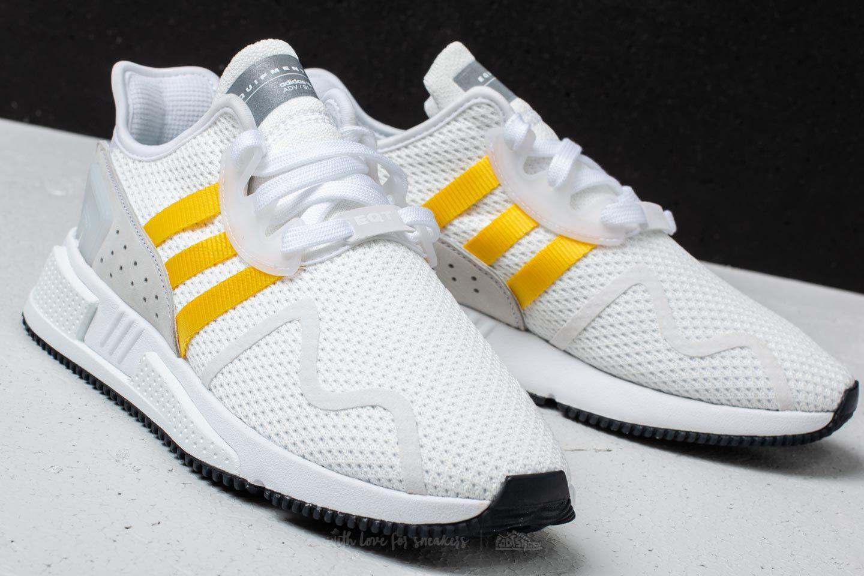 6de70df53e46 Lyst - adidas Originals Adidas Eqt Cushion Adv Ftw White  Eqt Yellow ...