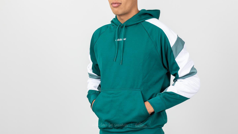 de8cc50a95f8 Adidas Originals - Equipment Block Hoody Hoodie Noble Green for Men - Lyst.  View fullscreen