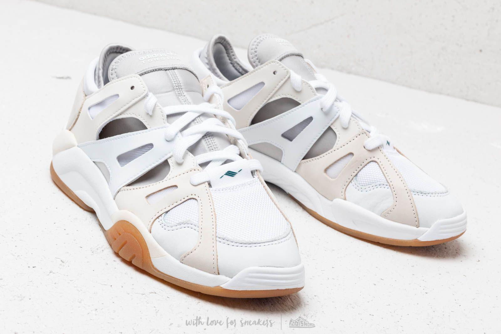competitive price 0a05e 63eed Adidas Originals - White Dimension Low Leather, Neoprene And Mesh Sneakers  - Lyst. View fullscreen