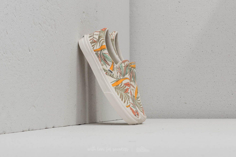 Vans Linen Classic Slip-on (california Floral) Marshmellow - Lyst