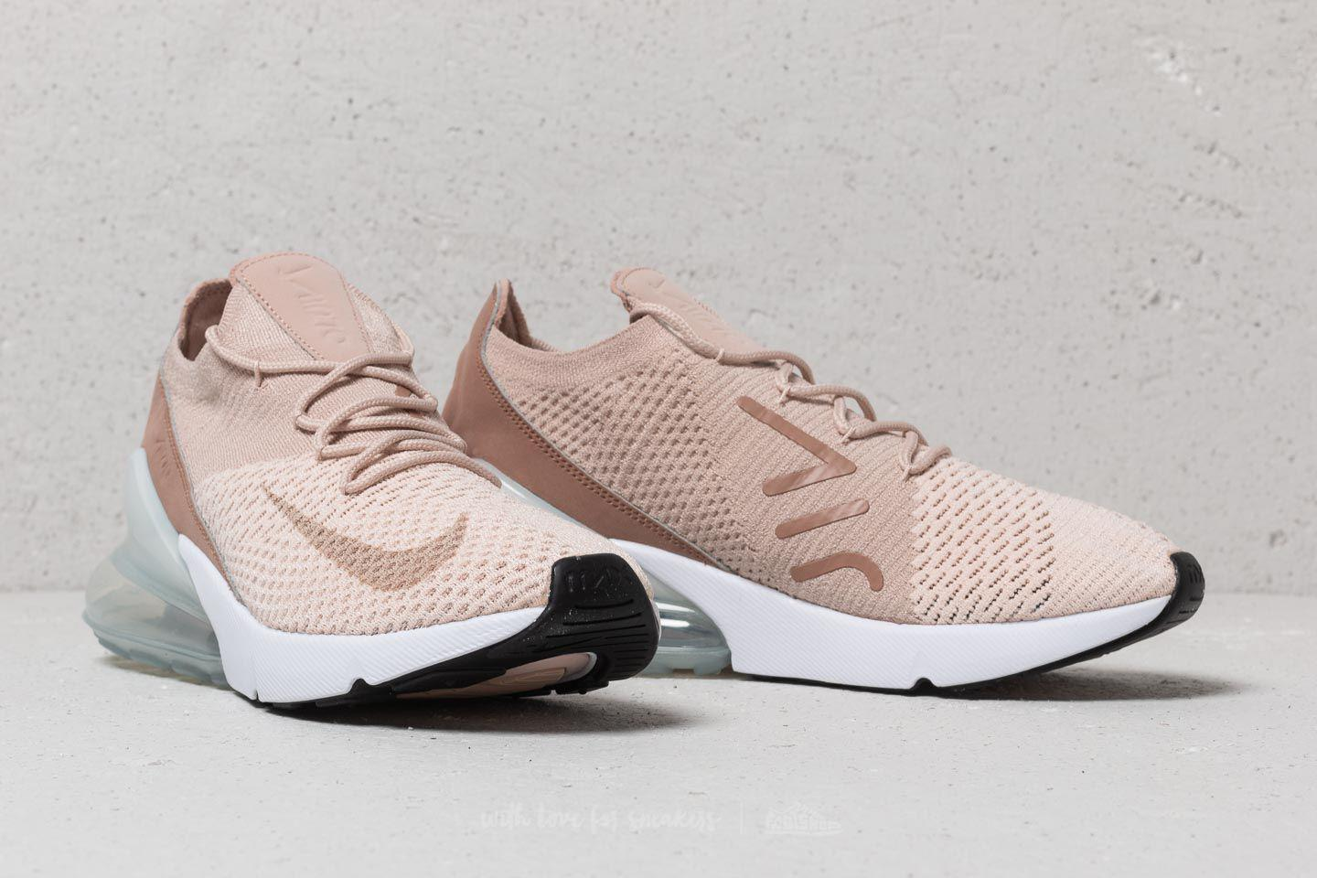 7dfeeb0cf9d1b Nike Wmns Air Max 270 Flyknit Guava Ice/ Particle Beige - Lyst