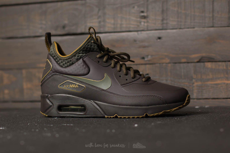 Lyst - Nike Air Max 90 Ultra Mid Winter Se Velvet Brown  Velvet ... f0633dfc4