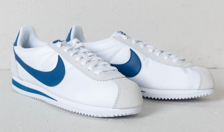 Classic Cortez Nylon White/ Gym Blue