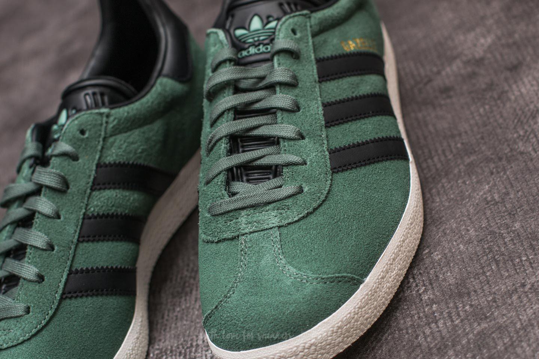 Adidas Gazelle Trace Green/ Core Black/ Gold Metalic