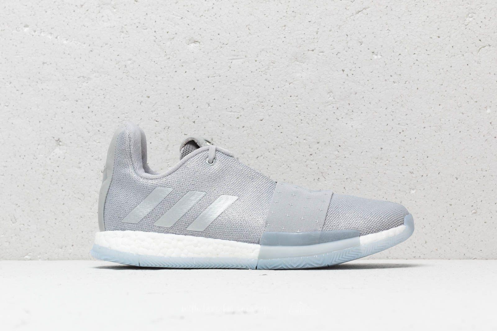 new styles bbd57 34955 adidas Originals Adidas Harden Vol. 3 Grey Two  Silver Metallic ...