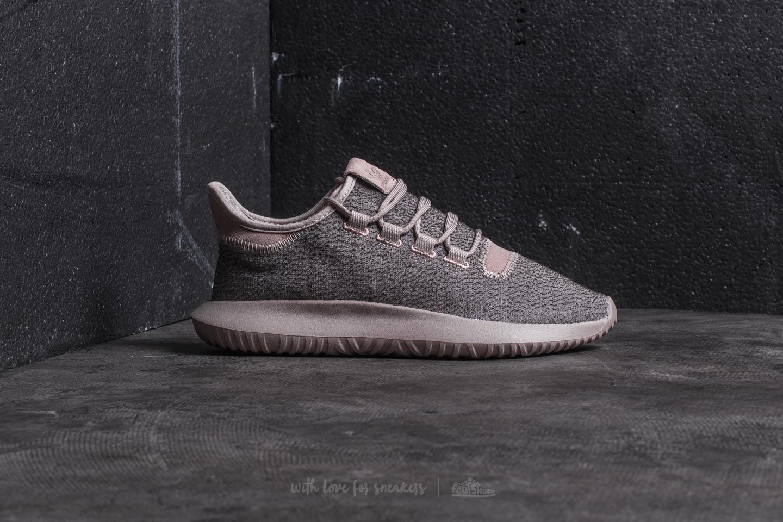 reputable site 1cd79 7a8b0 Men's Gray Adidas Tubular Shadow Vapour Grey/ Vapour Grey/ Raw Pink