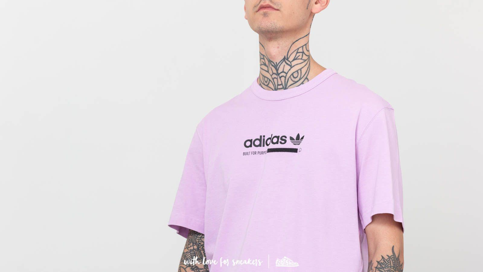 adidas Originals Cotton Adidas Kaval Tee Clear Lilac in