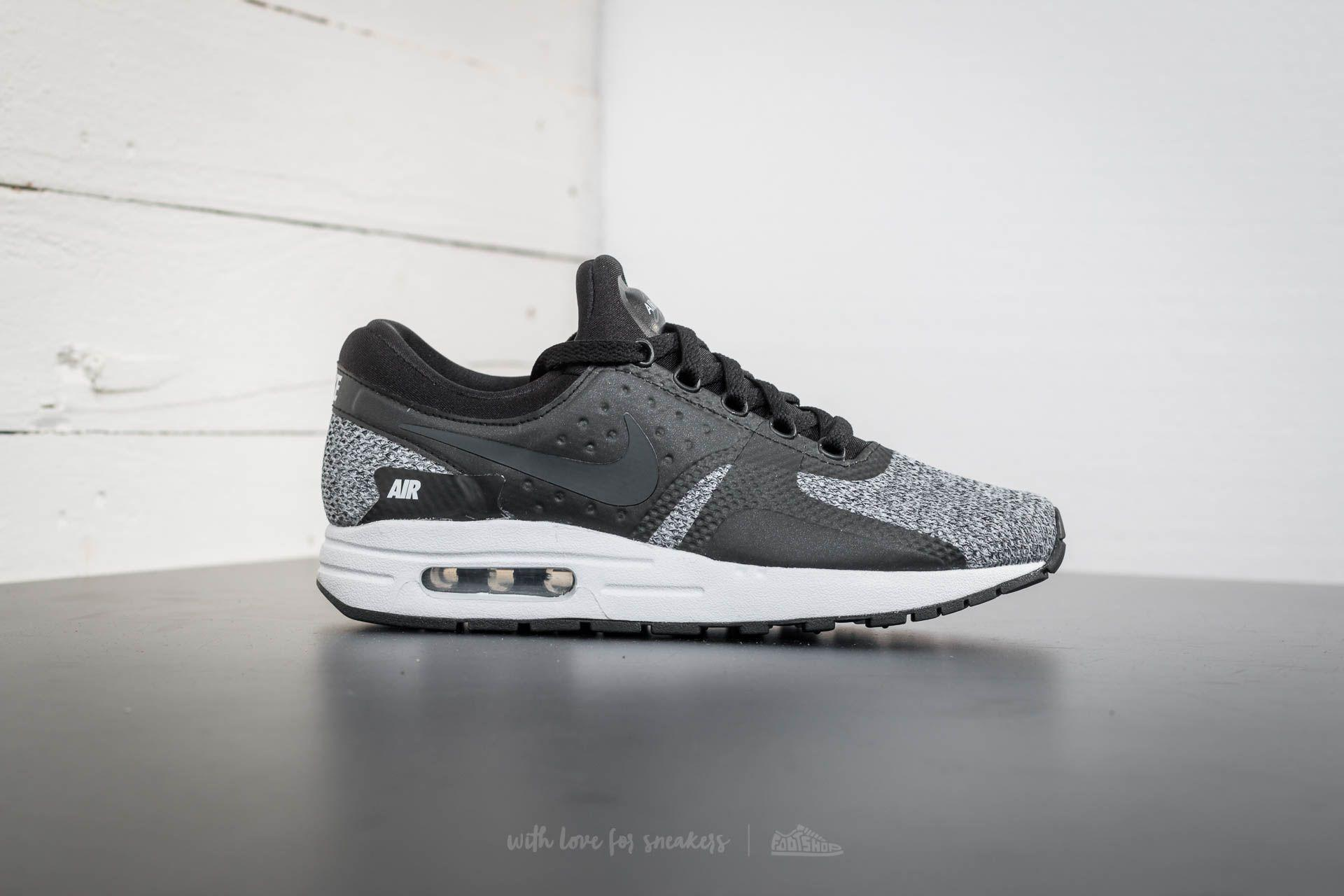 Nike Air Max Zero SE (GS) Black Anthracite Cool Grey | Footshop