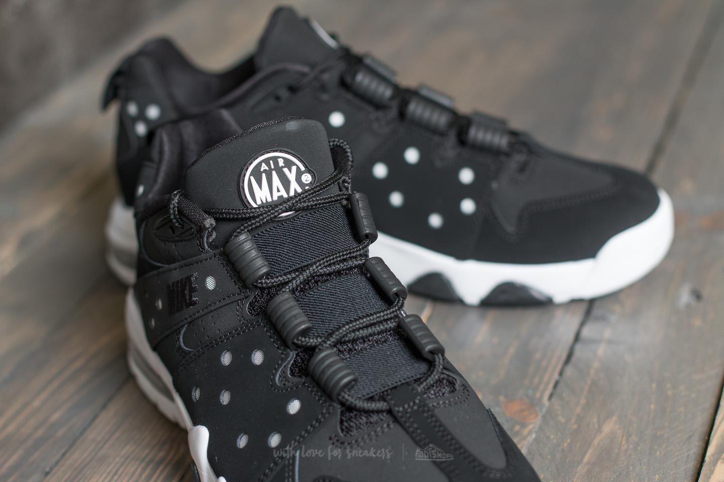 on sale 79c85 1288e ... basketball shoes black white 9e24c 8a1c4  italy lyst nike air max2 cb  94 low black white black in black for men 48a6b