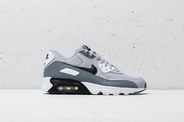 18a8ed91ea6838 Lyst - Nike Air Max 90 Mesh (gs) Wolf Grey  Black-cool Grey in Gray