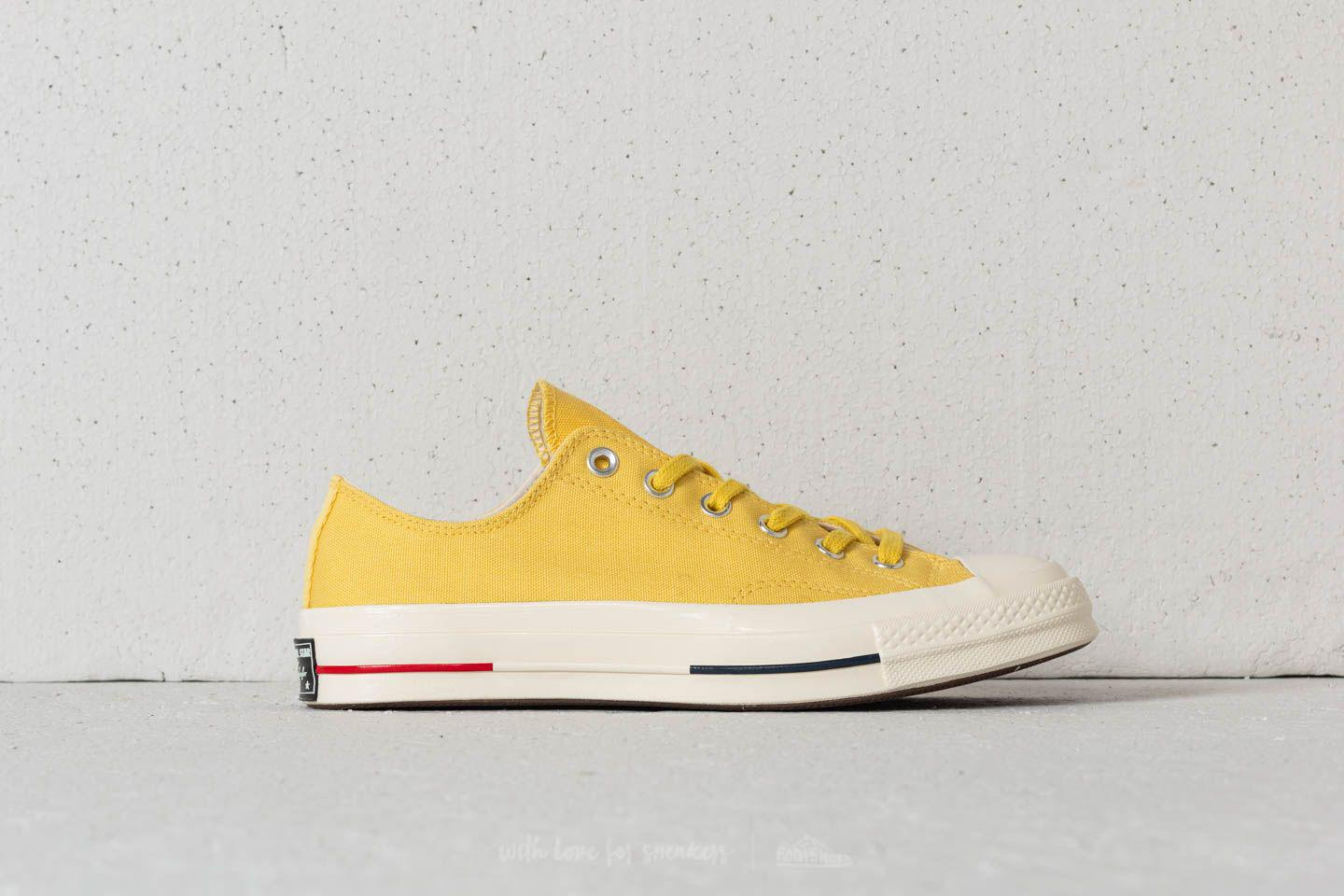 a2744503156 Lyst - Converse Chuck Taylor All Star 70 Ox Desert Gold  Navy  Gym ...