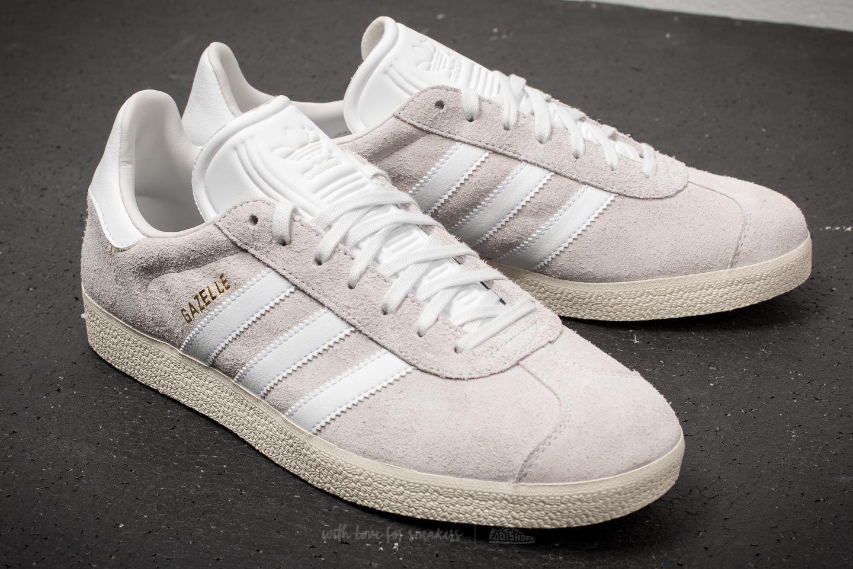 Lyst - adidas Originals Adidas Gazelle Crystal White  Ftw White ... a4cbb67fce2b