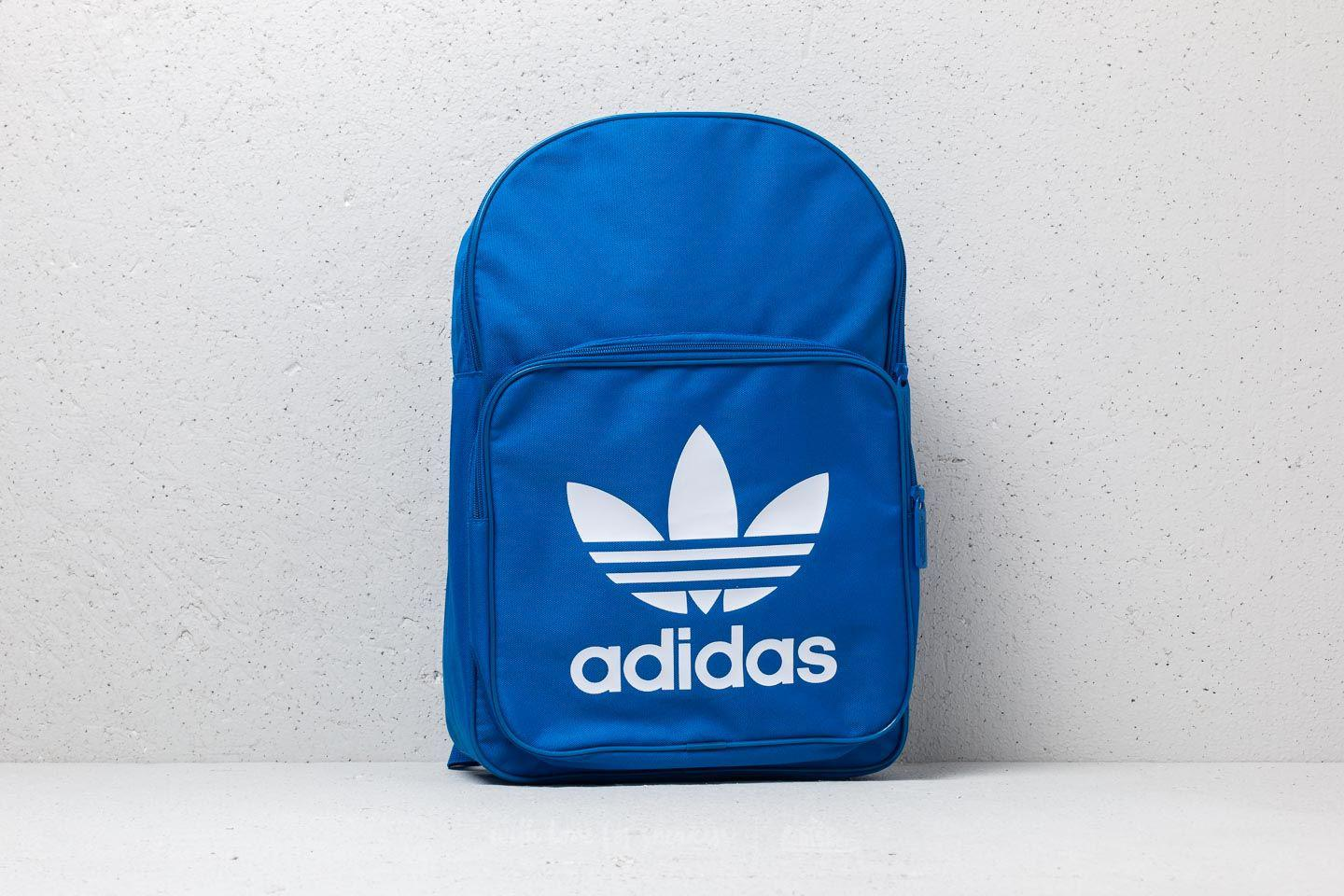 cf21b2bfce Lyst - adidas Originals Adidas Trefoil Backpack Blue in Blue for Men