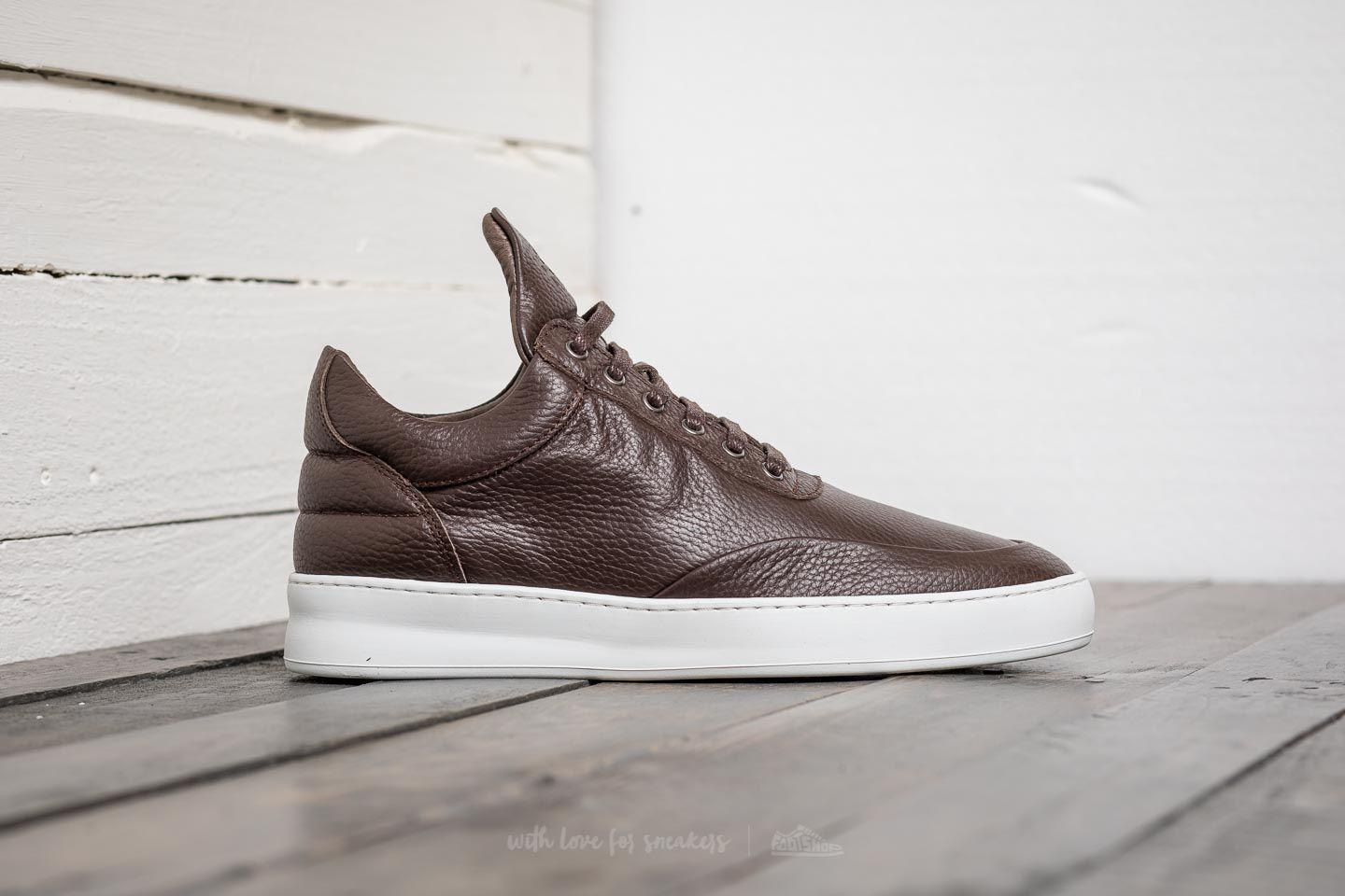 Grain low top sneakers - Brown Filling Pieces W6A2TiWY2