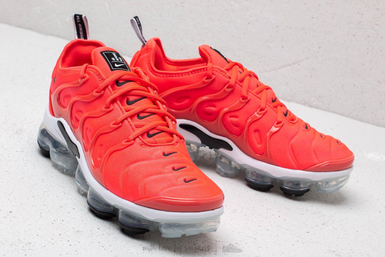 ab7db7b3b9fa Lyst - Nike Air Vapormax Plus Bright Crimson  Black-white in Red for Men