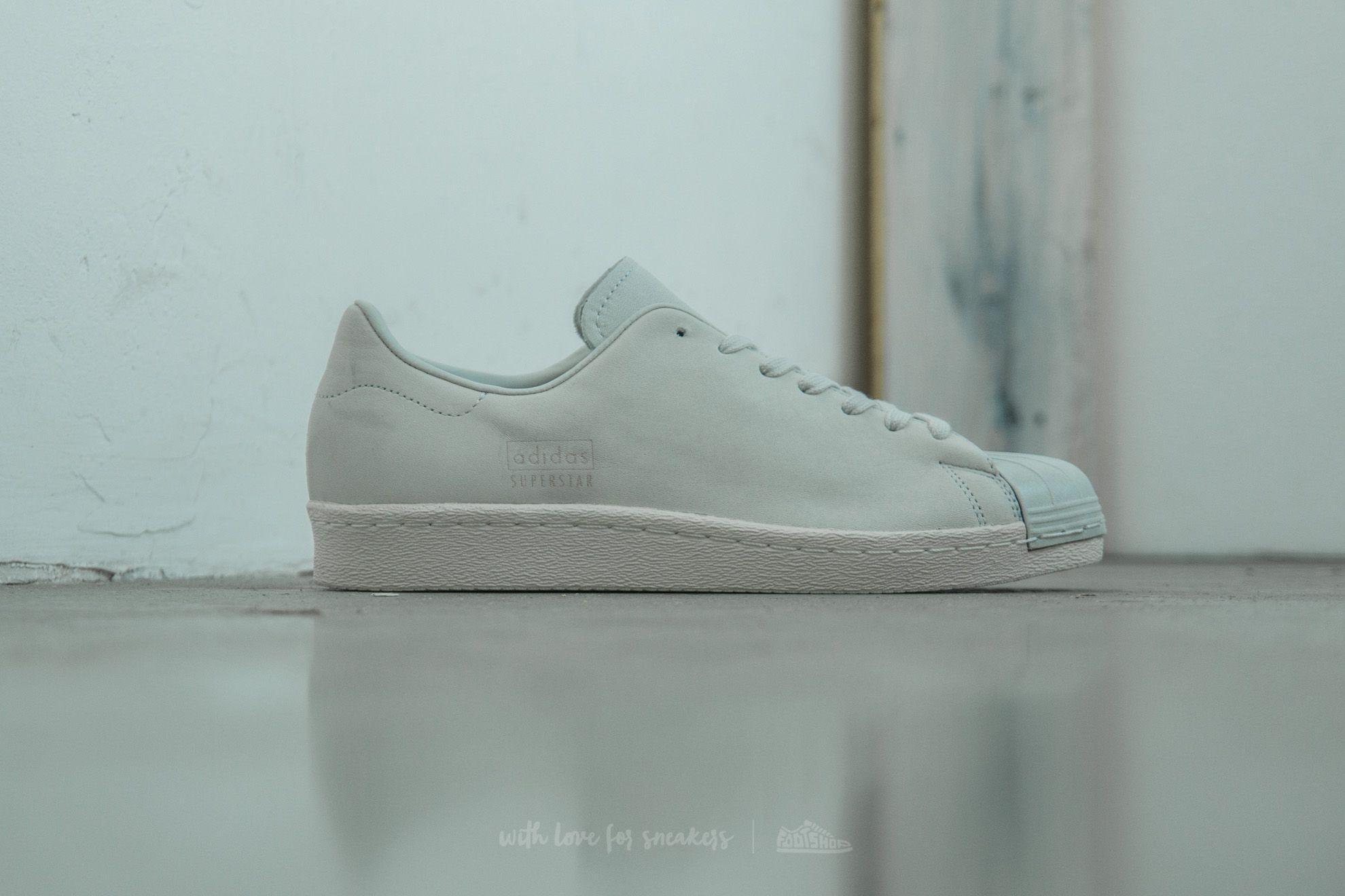 ed7e45f7759 Lyst - adidas Originals Adidas Superstar 80s Clean Crystal White ...
