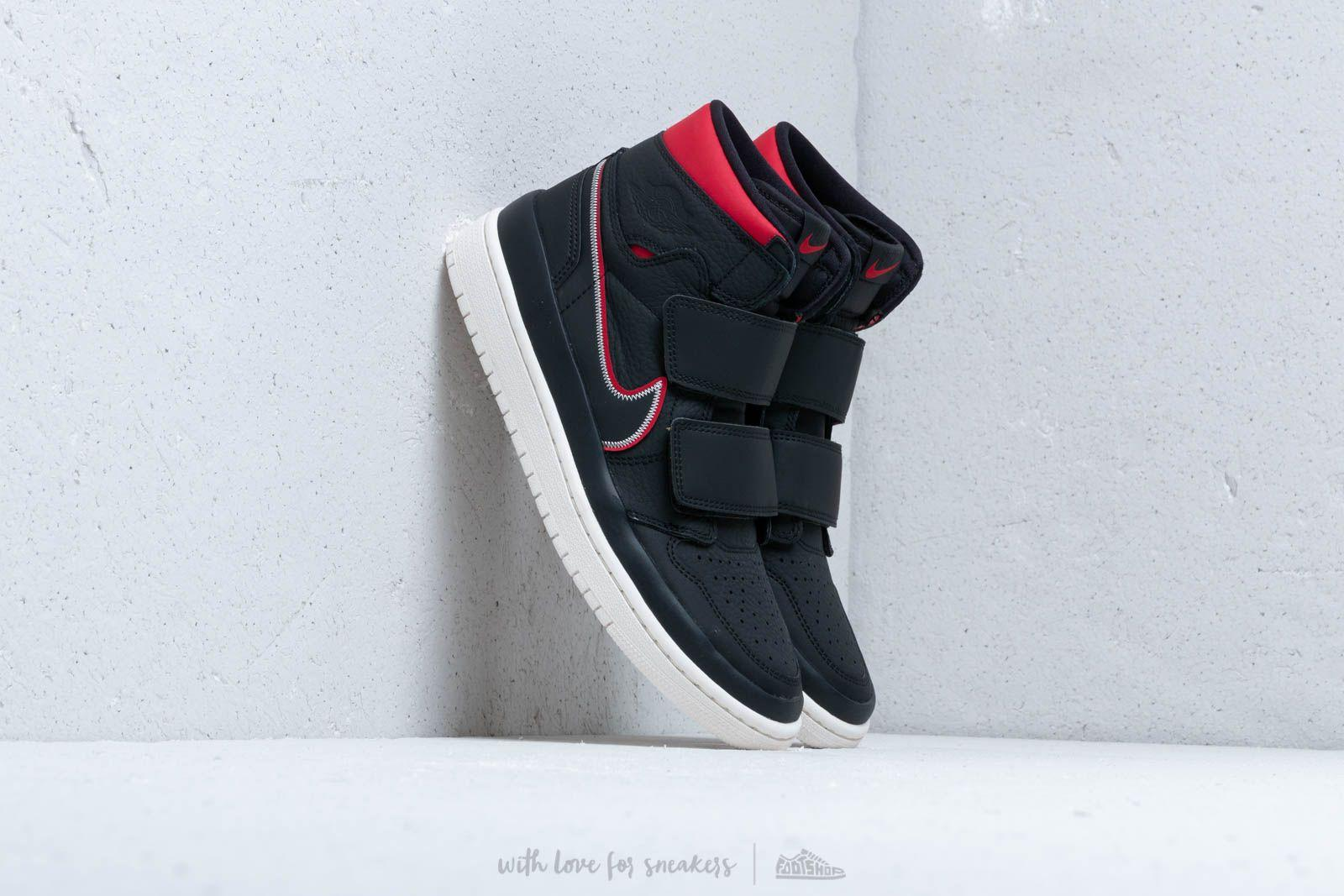 82362d49 Lyst - Nike Air 1 Re Hi Double Strp Black/ Gym Red-sail in Black for Men