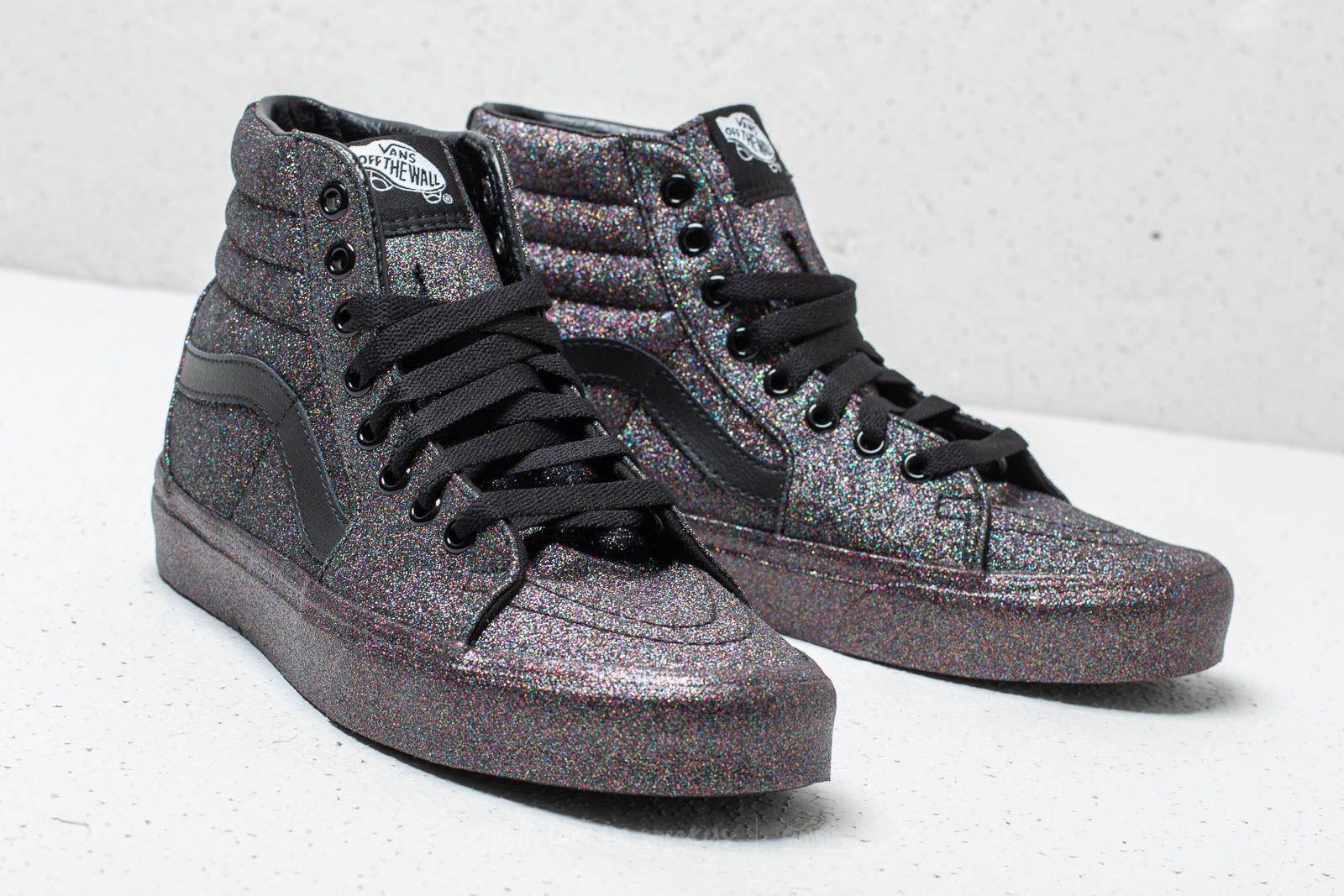 d66eb51e95c1cd Lyst - Vans Sk8-hi (rainbow Glitter) Black  Black in Black for Men