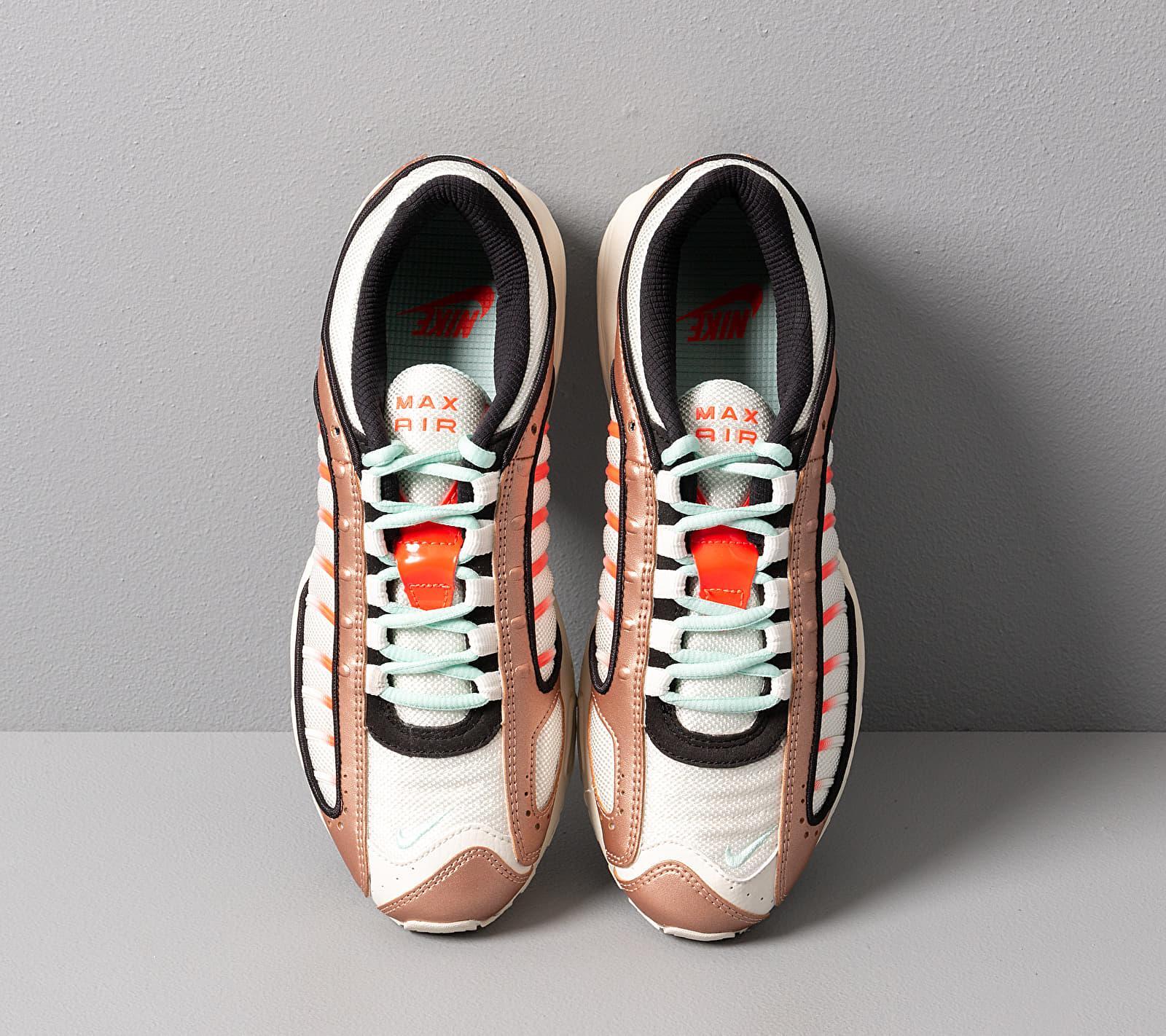 Wmns Air Max Tailwind Iv Mtlc Red Bronze/ Teal Tint-Pure Platinum Nike