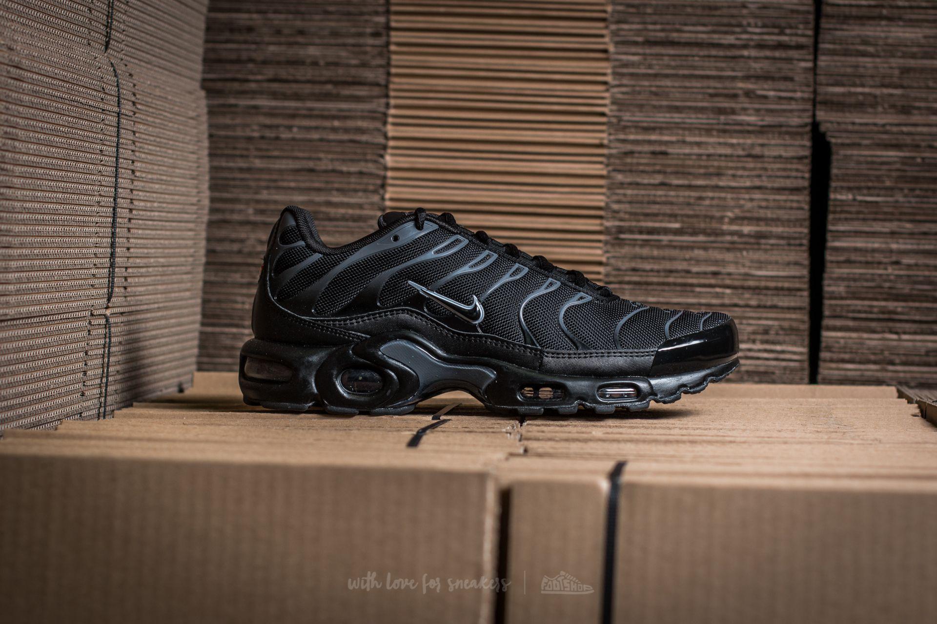4ff86369a39cc Nike Air Max Plus Black/ Black-pure Platinum in Black for Men - Lyst