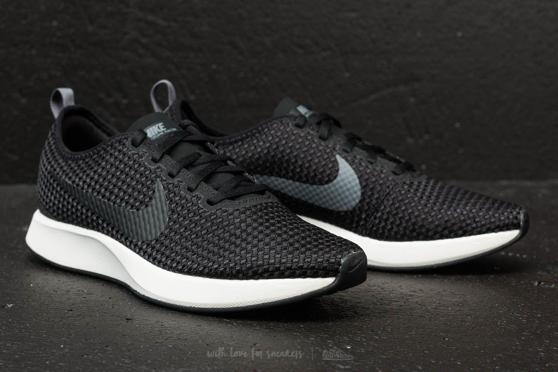 Nike Sportswear DUALTONE RACER - Trainers - black/dark grey/sail Z8VbV7khML