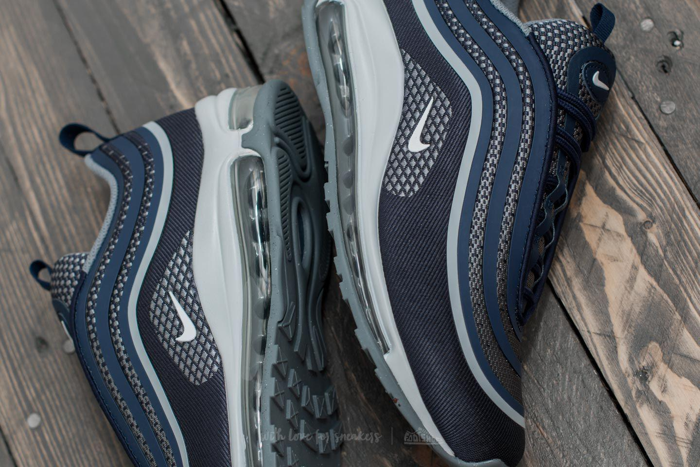 Nike Blue Air Max 97 Ultra 17 (gs) Midnight Navy White cool Grey for men