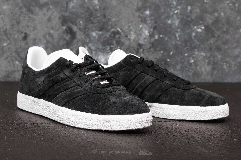adidas Suede Adidas Gazelle Stitch And Turn Core Black/ Core Black ...