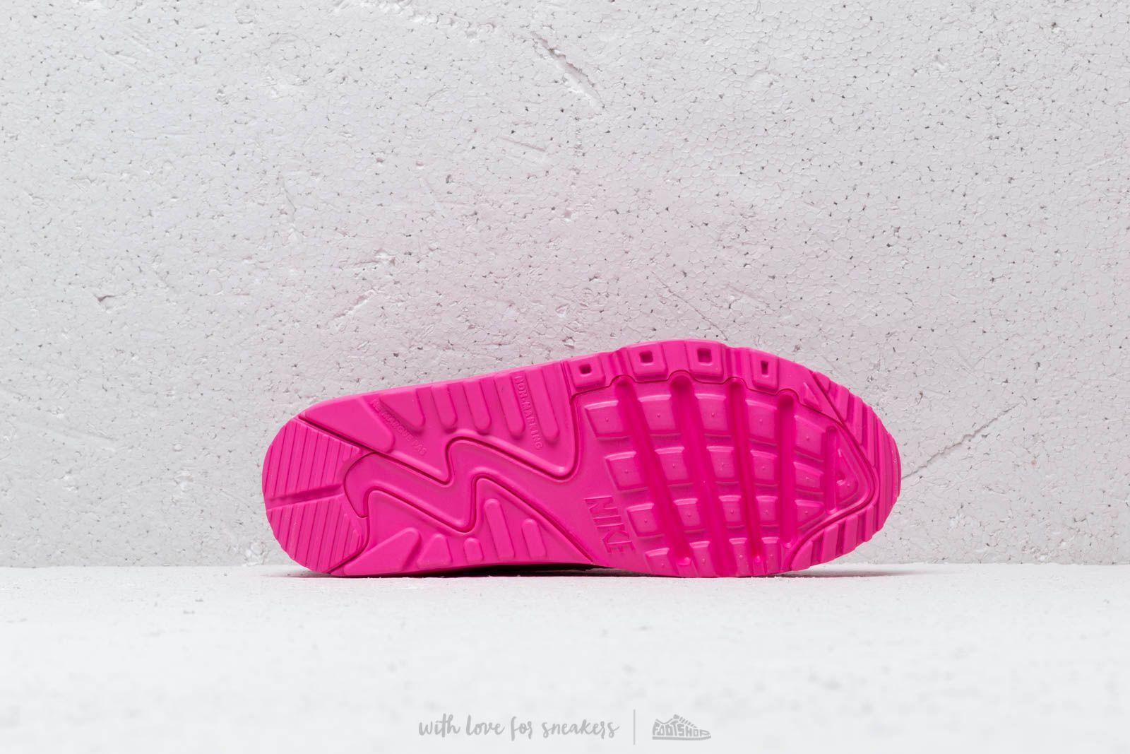 huge discount 7c439 7ba48 Nike Air Max 90 Ltr (gs) Laser Fuchsia  Laser Fuchsia-white in ...
