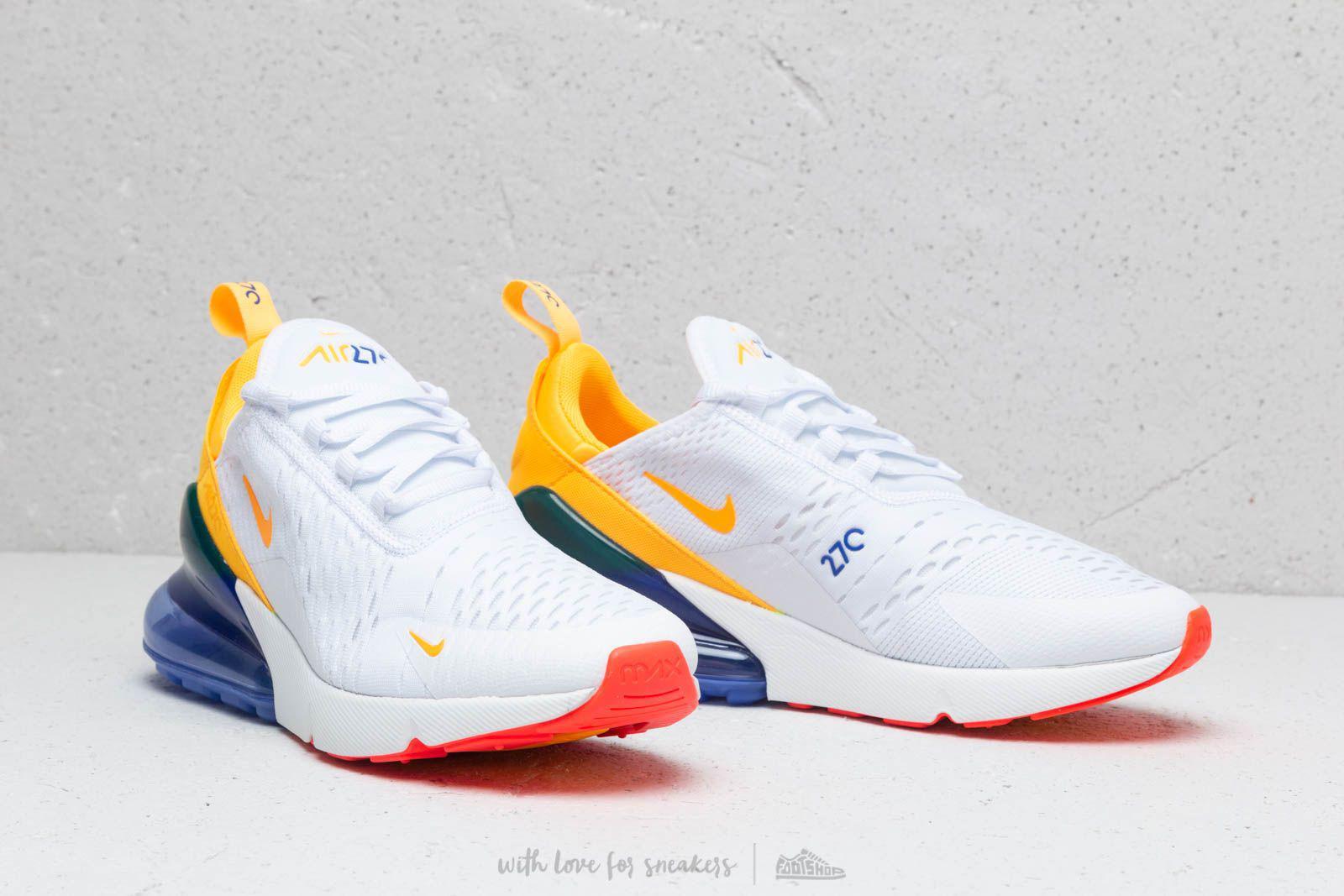 hot sale online 9c43c 71ea7 Lyst - Nike W Air Max 270 White  Laser Orange-hyper Violet nike air max 270  laser orange