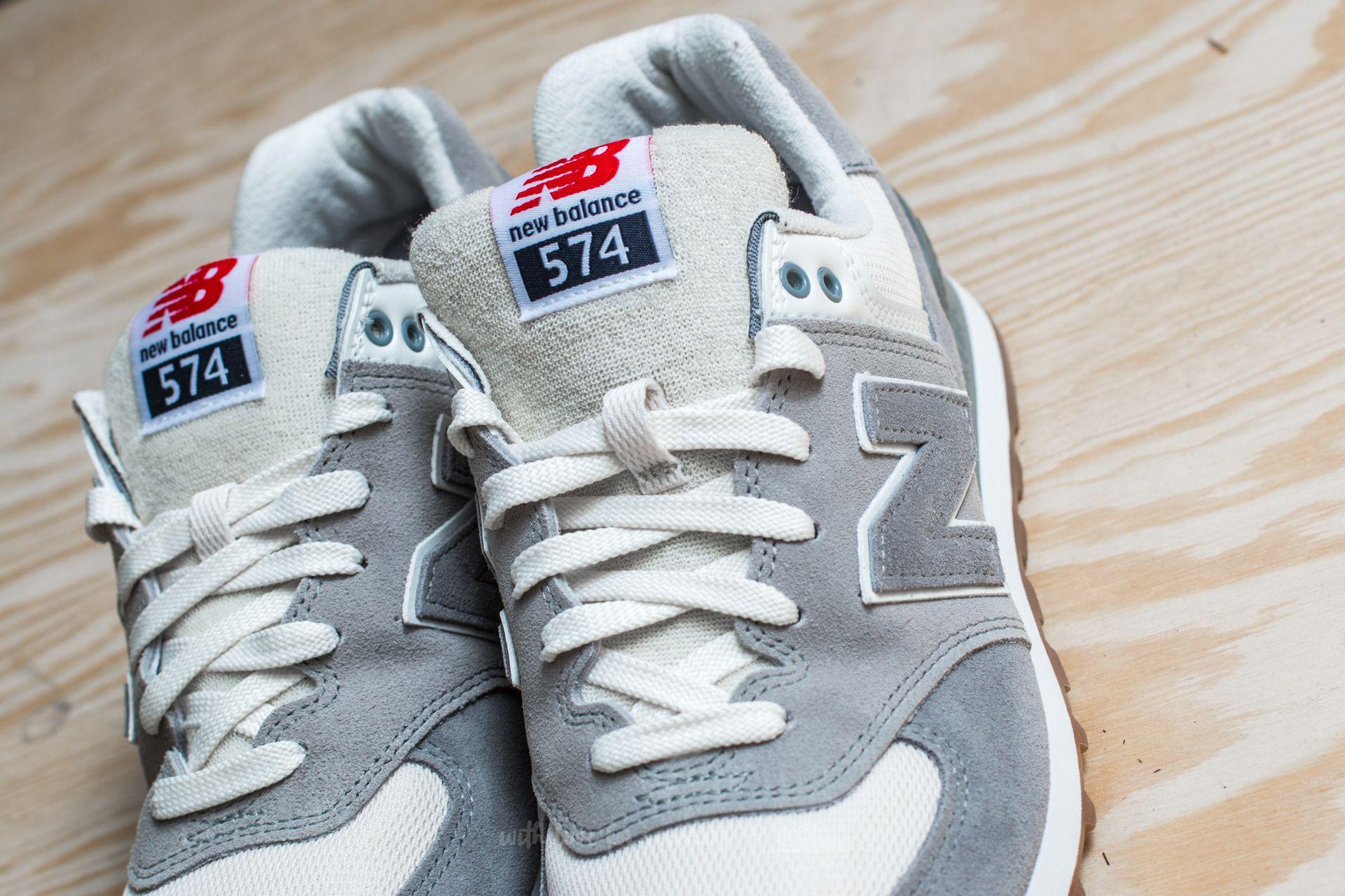 New Balance 574 Men's Running Shoes SteelSilver Mink