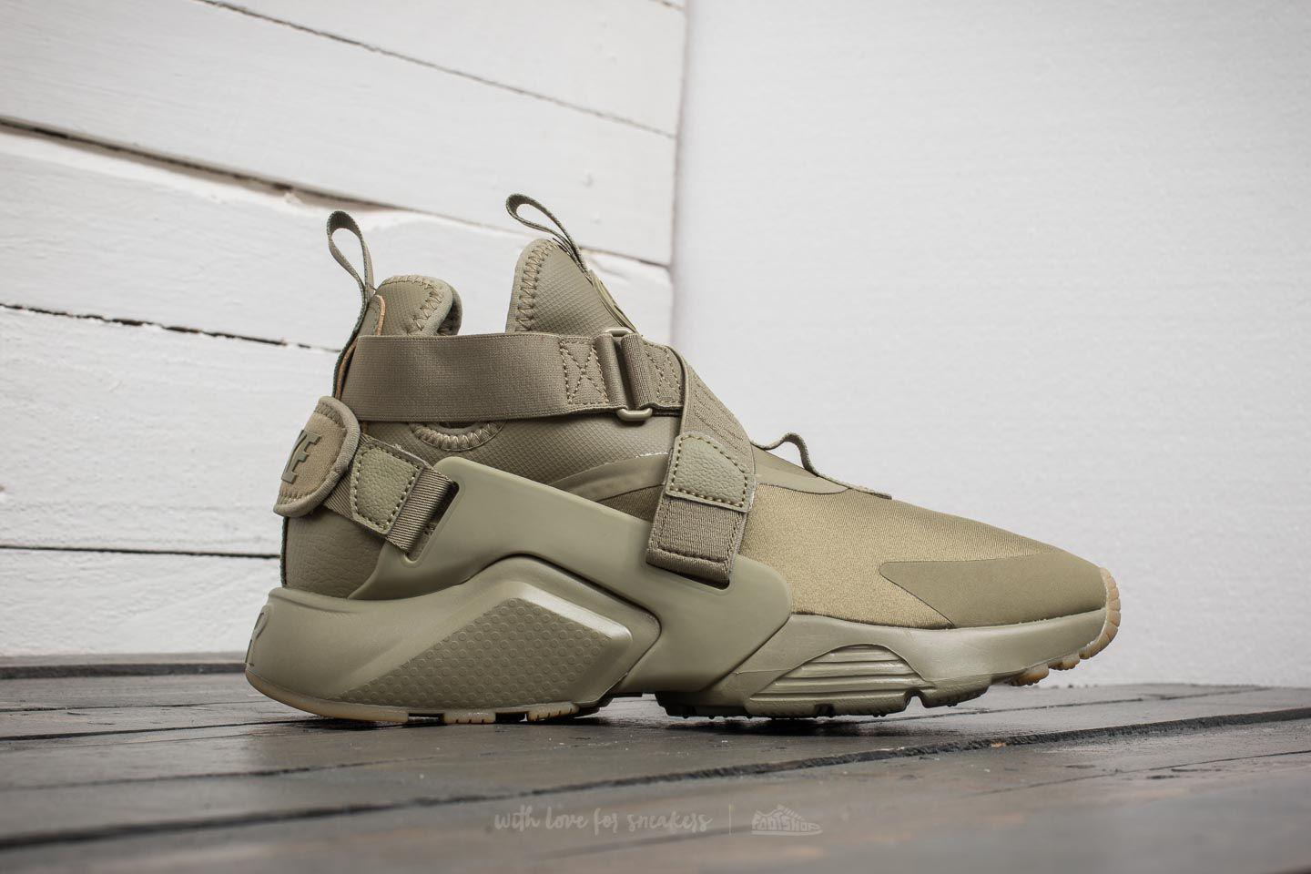 shopping 100% genuine on wholesale W Air Huarache City Neutral Olive/ Neutral Olive