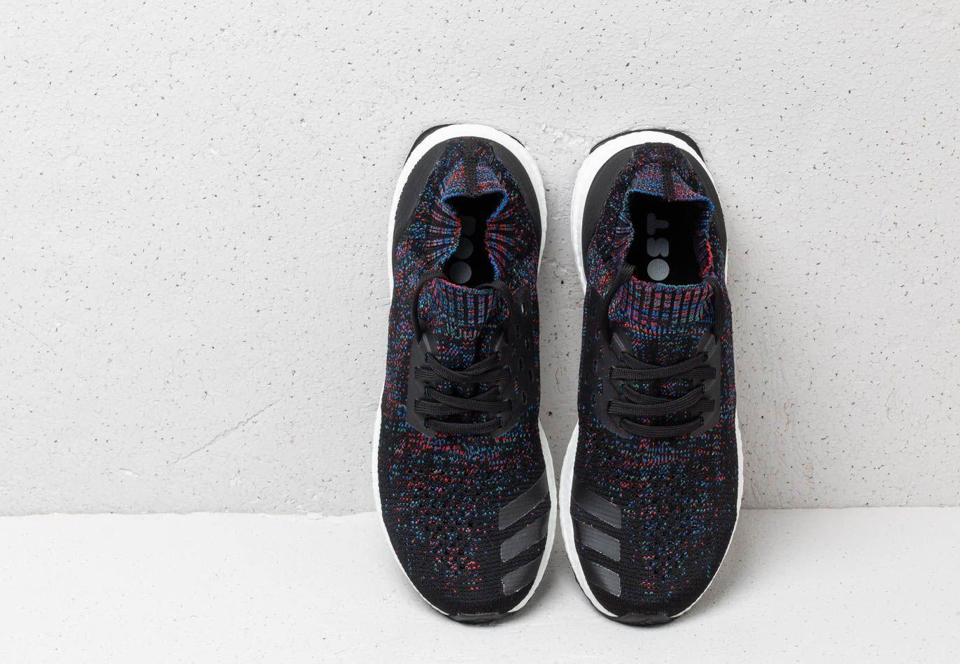 Adidas Ultraboost Uncaged Core Black/ Active Red/ Blue