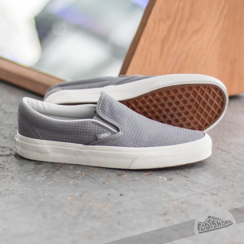 Vans Classic Slip-on Braided Suede Wild