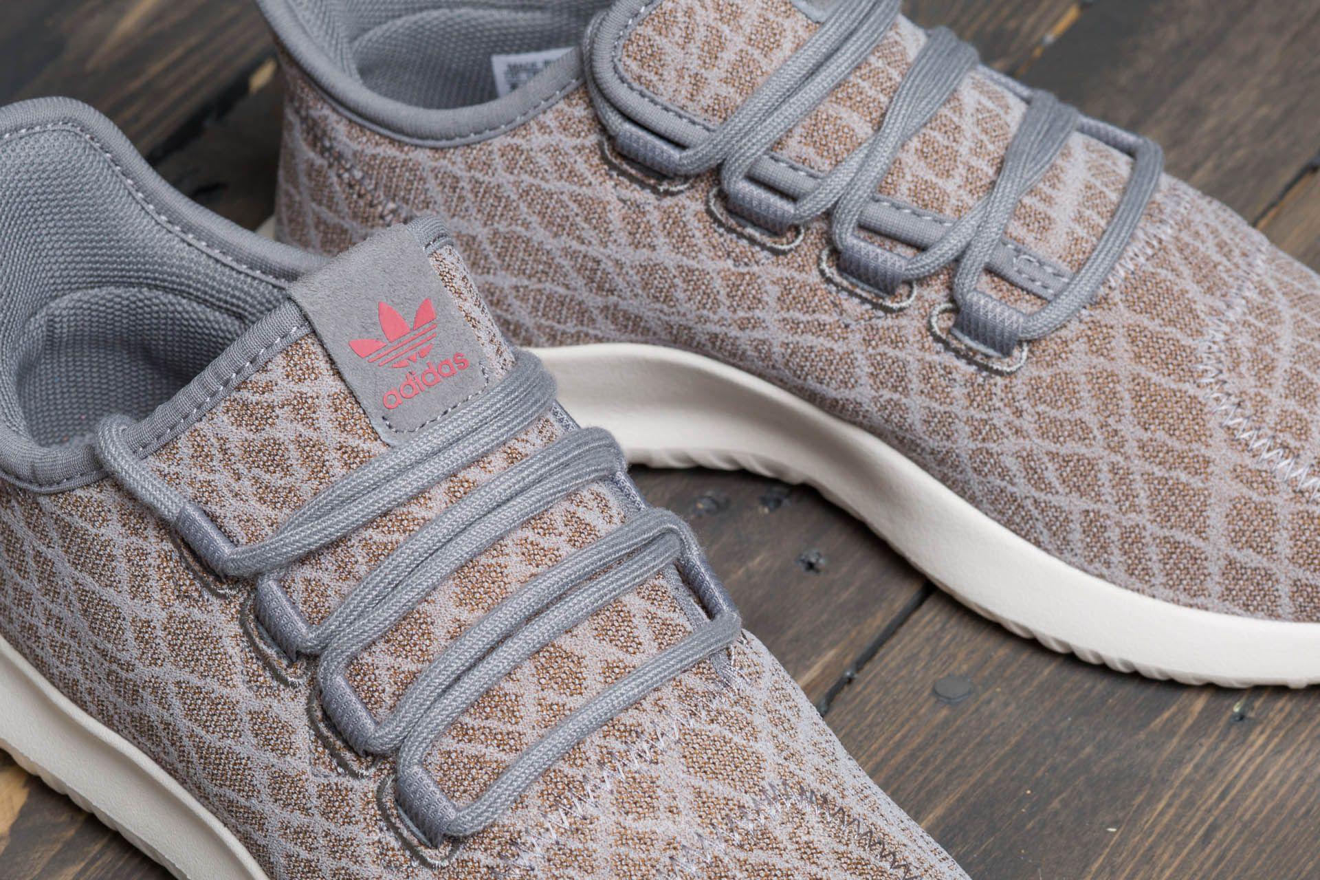 sale retailer 978c4 e5f92 Women's Gray Adidas Tubular Shadow W Ch Solid Grey/ Ch Solid Grey/ Raw Pink