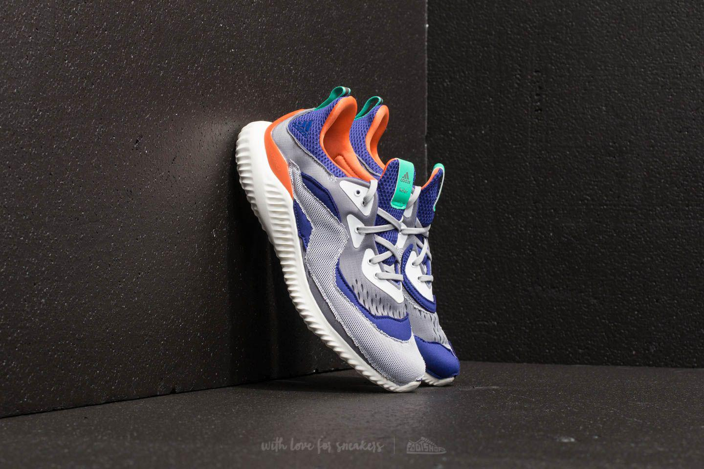 9a2eeb8a7 Footshop - Gray Adidas Alphabounce (kolor) Grey One  Grey Two  Amazon Purple