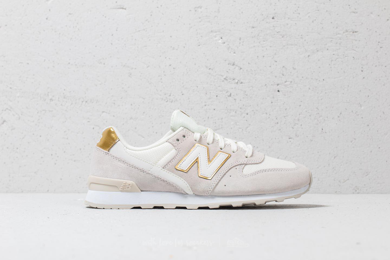 New Balance Suede 996 Beige/ Gold - Lyst