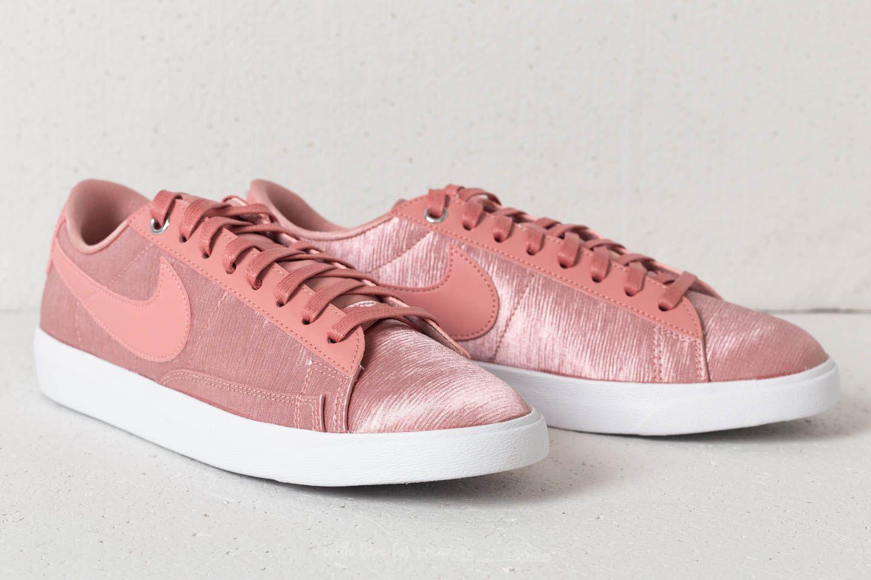 info for 2c870 abe52 Nike - W Blazer Low Se Rust Pink Rust Pink-white - Lyst. View fullscreen