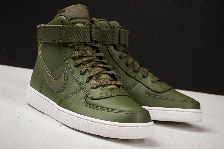 Lyst - Nike Vandal High Supreme Leather Legion Green  Legion Green ... be8eb04a4ec8