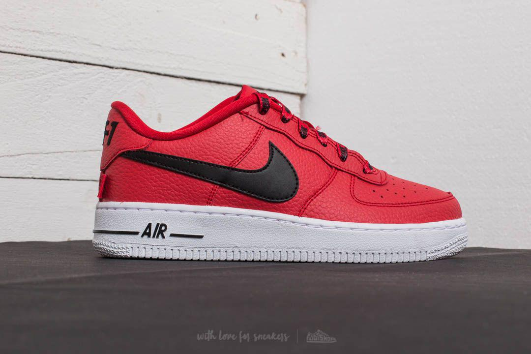 Lyst - Nike Air Force 1 Lv8 (gs) University Red  Black-white in Red 0a13bbd37