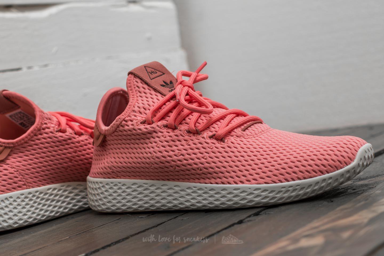 reasonable price size 40 aliexpress Adidas Pharrell Williams Pw Tennis Hu Tactile Rose/ Tactile Rose/ Raw Pink