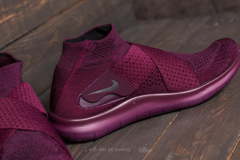 fb241c66909a8 Nike Purple W Free Rn Motion Flyknit 2017 Bordeaux/ Black-dark Raisin