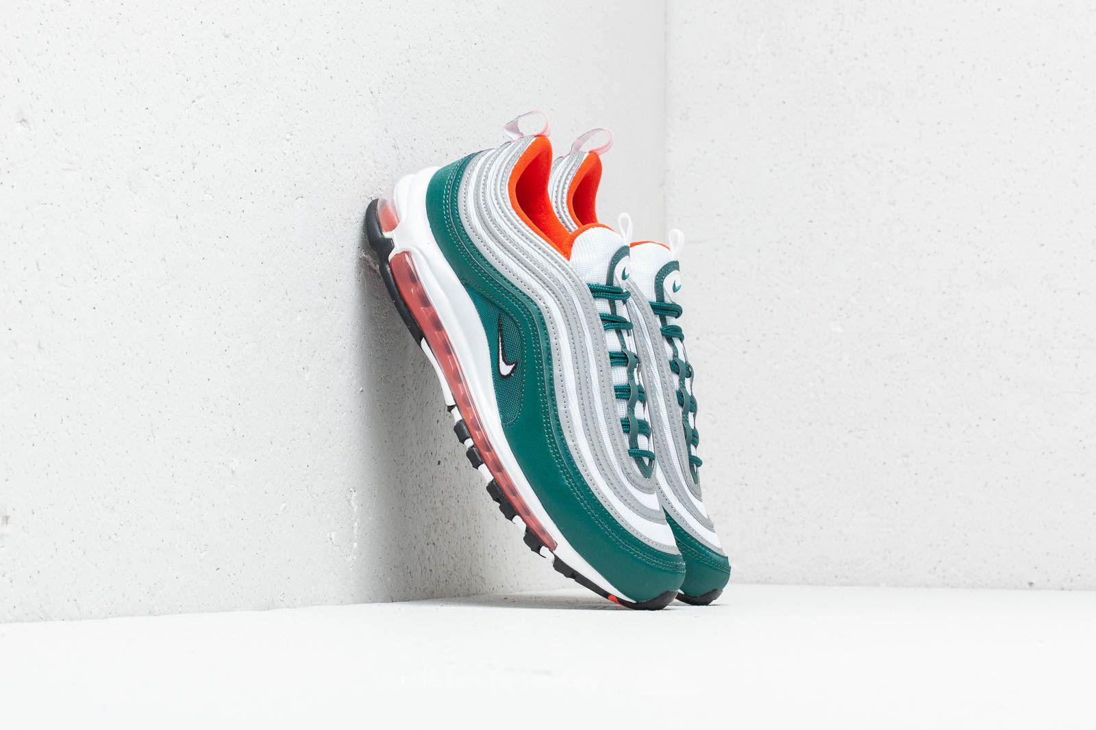 Nike Rubber Air Max 97 Rainforest/ White-orange for Men - Lyst