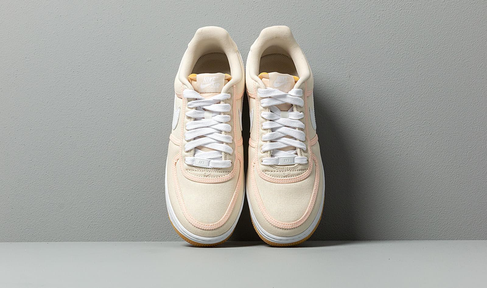 outlet exquisite design many fashionable Air Force 1 '07 Premium Light Cream/ White-crimson Tint
