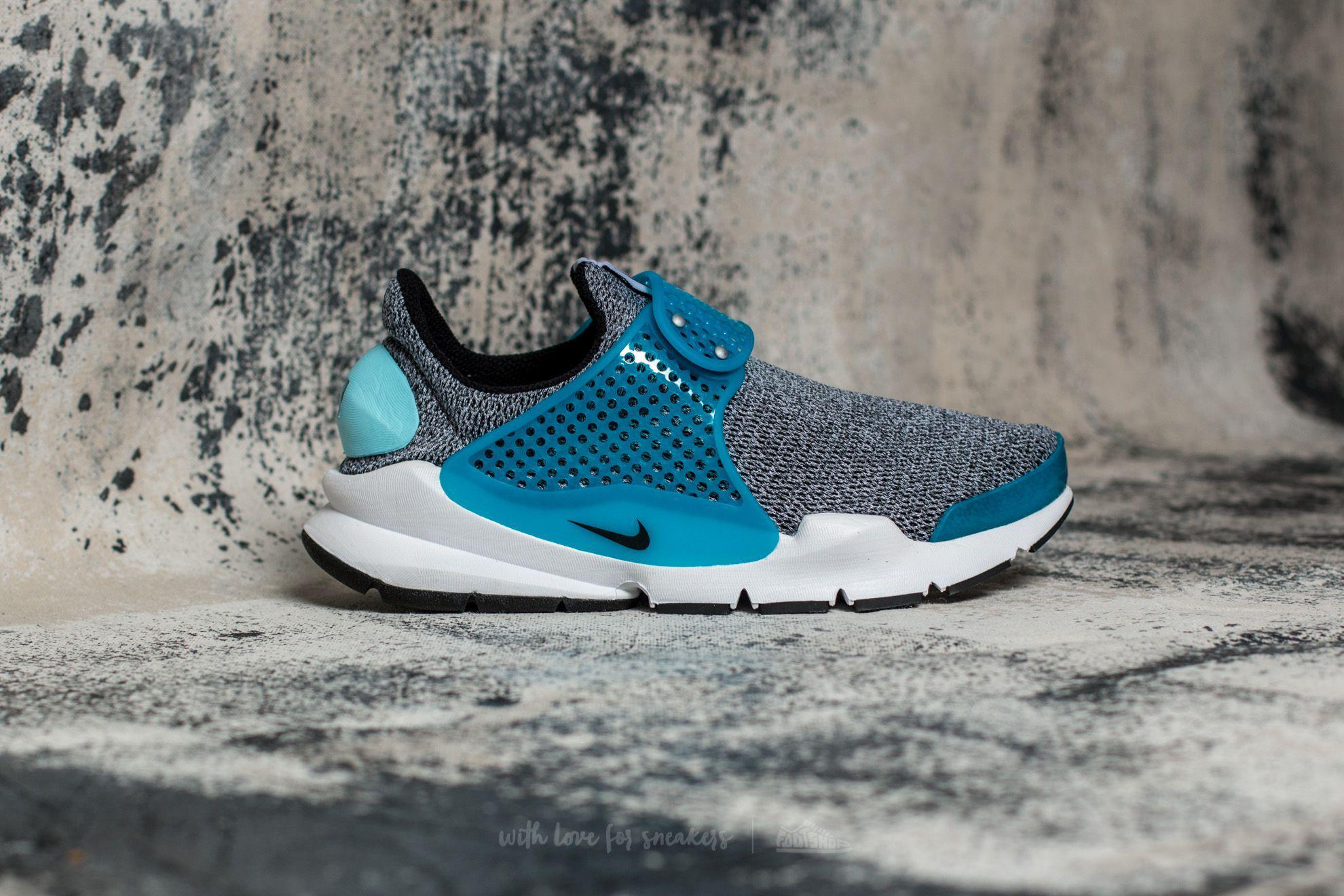 Best Nike Wmns Sock Dart SE Black / Black Blue Lagoon White