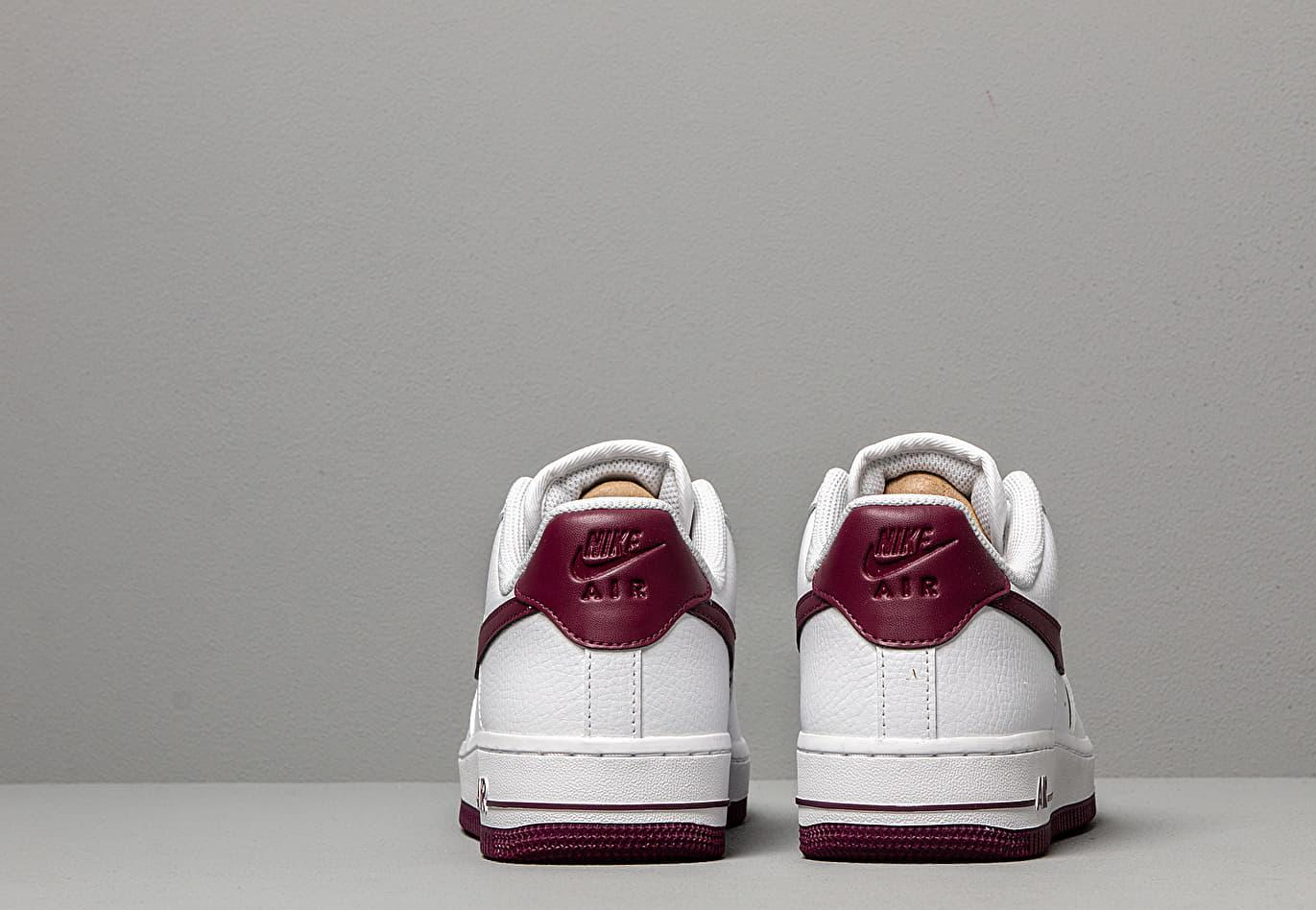 air force 1 baffo bordeaux