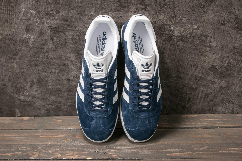 Adidas Gazelle Core Navy/ White/ Gold Metalic
