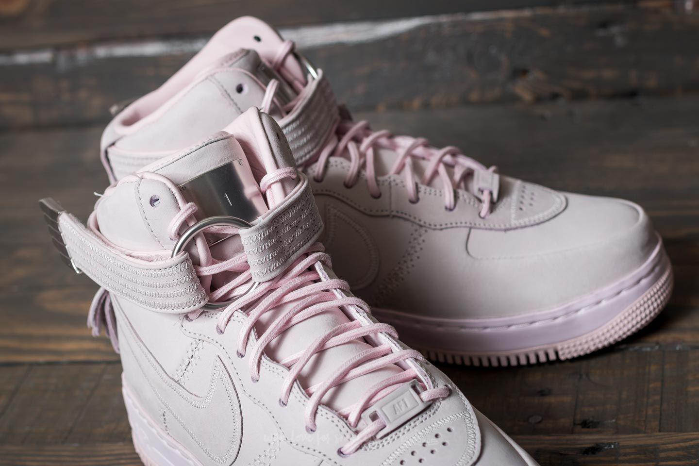 reputable site 25d84 0772a Lyst - Nike Air Force 1 High Sl Pearl Pink Pearl Pink in Pin